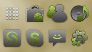 Gingerbread-Icons