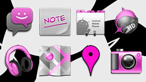 Pink Icons!