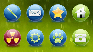 Spherical Icons