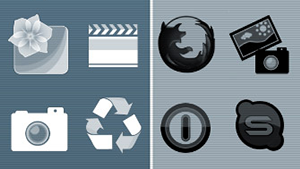 Color Me dock icons