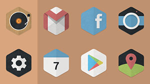 Hexacon – Icon Pack