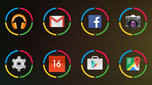 Icon Pack – Nexus Circle