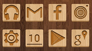 Wood – Icon Pack