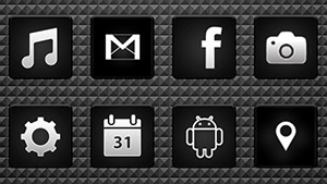 Black – Icon Pack