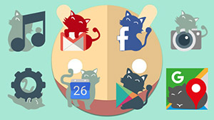 El Gaton Cats Icon Pack Lite