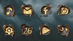 Tha Steampunk – Icon Pack