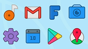 ANDROMEDA – Icon Pack