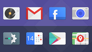 Material Cards icon pack